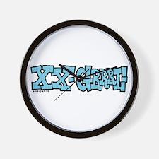 XX - Grrrl! Wall Clock