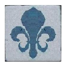 Fleur de LisN.O. Street Tile Replica