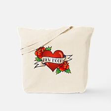 Tattoo New Moon Tote Bag