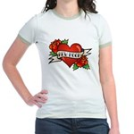 Tattoo New Moon Jr. Ringer T-Shirt
