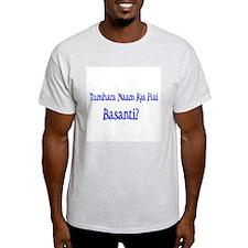 Basanti Ash Grey T-Shirt