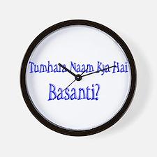 Basanti Wall Clock