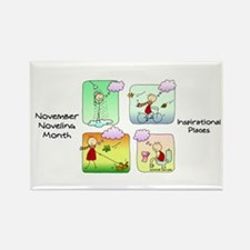 Cute Nano day Rectangle Magnet (10 pack)