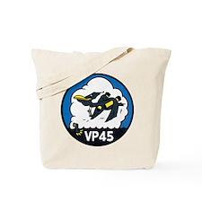 Patrol Squadron VP 45 US Navy Ships Tote Bag