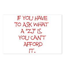 ZJ Postcards (Package of 8)
