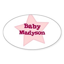 Baby Madyson Oval Decal