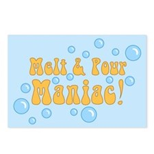 Melt And Pour Maniac Postcards (Package of 8)