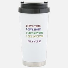 Cute Rn nurse Travel Mug