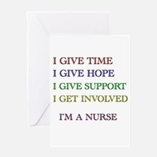 Cute Male nurse Greeting Card