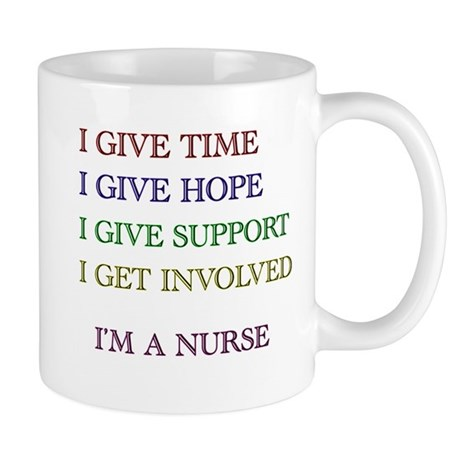 I GIVE TIME copy Mugs
