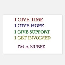 Funny Nurses Postcards (Package of 8)