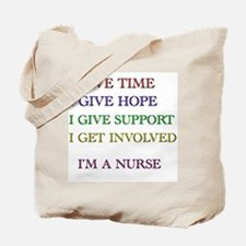 Unique Nurses week Tote Bag
