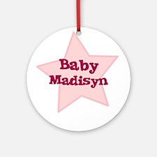 Baby Madisyn Ornament (Round)