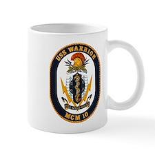 USS Warrior MCM 10 US Navy Ship Mug