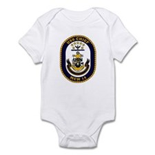 USS Chief MCM 14 US Navy Ship Infant Bodysuit