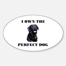 MY PERFECT LAB Oval Decal