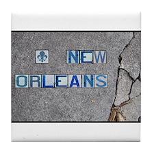 New Orleans #3 Tile Coaster