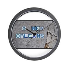 New Orleans #3 Wall Clock