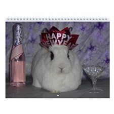 Bunny Wall Calendar