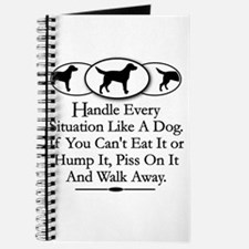 Unique Dog humping Journal