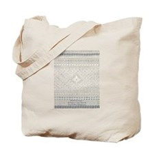 Whitework Sampler I Tote Bag