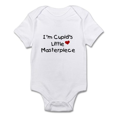 Baby Gifts > Baby Baby > Cupid's Masterpiece (Black) Infant Creeper