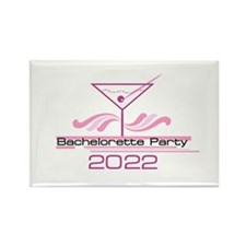 Martini Bachelorette 2013 Rectangle Magnet