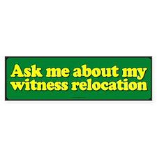 Witness Relocation sticker