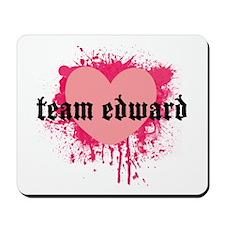 TWILIGHT TEAM EDWARD! Mousepad