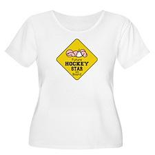 Hockey Star on Board T-Shirt