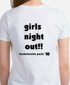 All About Her Bachelorette Women's T-Shirt