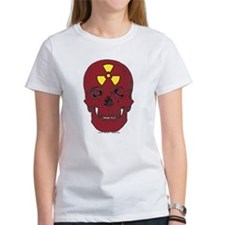 It's a FECKIN' red skull with a nuclear symbol. Wo