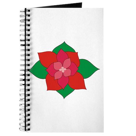 Christmas Flower Journal