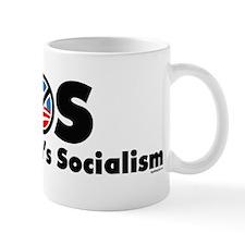 S.O.S. Stop Obama Mug