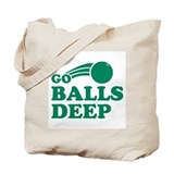 Balls deep Regular Canvas Tote Bag