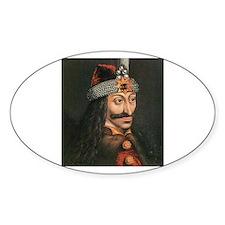Vlad Dracula Oval Decal