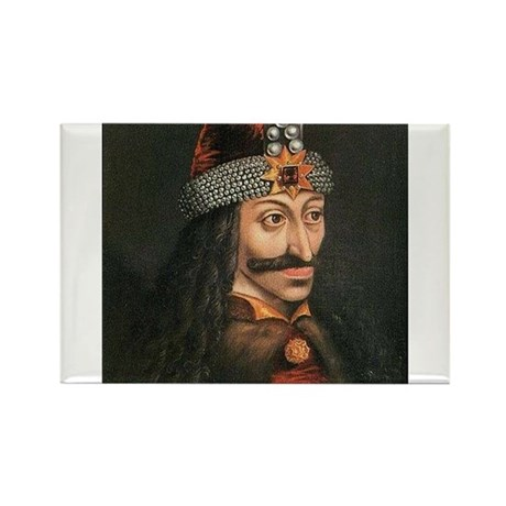 Vlad Dracula Rectangle Magnet