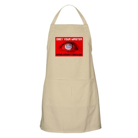 Fox News: Obey your Master BBQ Apron