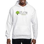 Life A Leg. Fertilize A Tree. Hooded Sweatshirt
