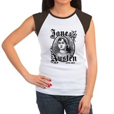 Jane Austen Women's Cap Sleeve T-Shirt