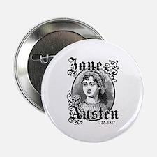 """Jane Austen 2.25"""" Button"""