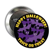 "HALLOWEEN BUTTONS, MAGNETS & 2.25"" Button"