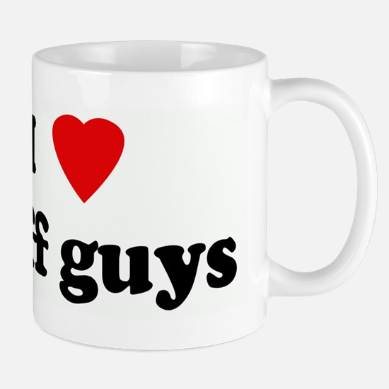 I Love buff guys Mug