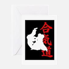 Aikido Kanji Greeting Card
