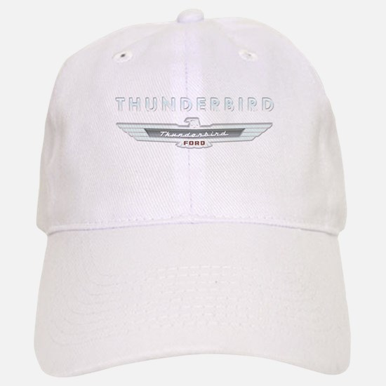 Ford Thunderbird Logo w Type Chrome Baseball Baseball Cap