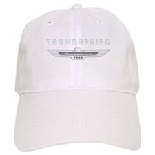 Ford Thunderbird Logo w Type Chrome Baseball Cap
