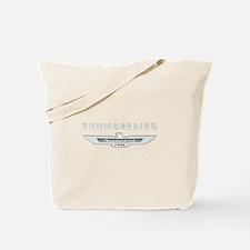 Ford Thunderbird Logo w Type Chrome Tote Bag