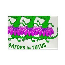 gators in tutus! Rectangle Magnet
