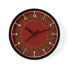Hypnotic Eye - Flame Wall Clock