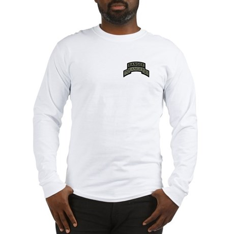 75th Ranger Regt Scroll with Long Sleeve T-Shirt